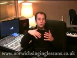Norwich singing lessons vocal coaching