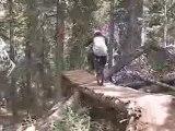 Silverton Mountain extreme mountain biking