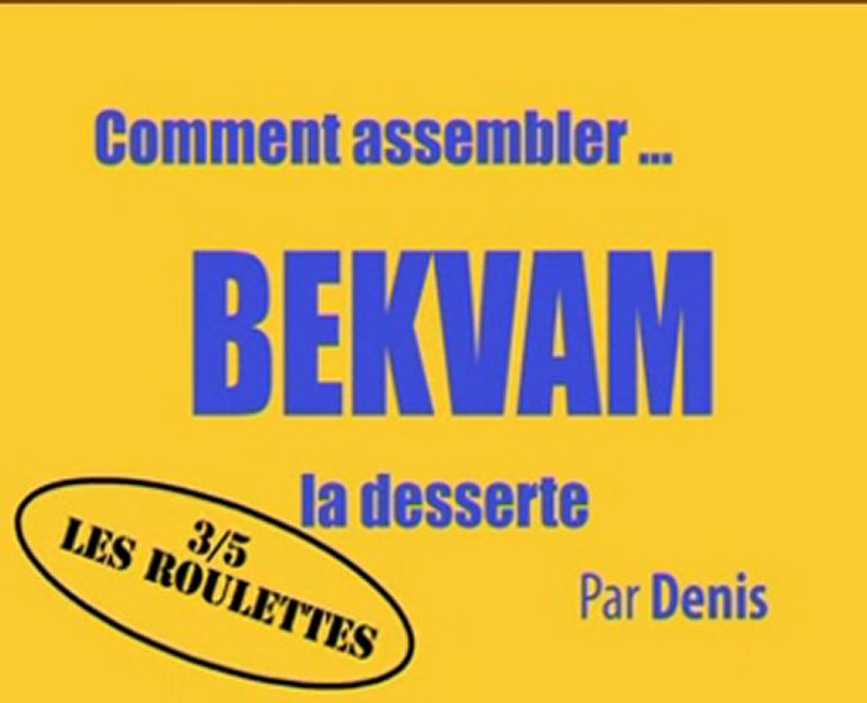 Bekvam 35 Desserte Comment D'ikea Assembler La gbY76yfv