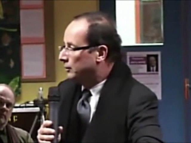 Francois Hollande et la dette publique ! Accablant !