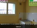 Vente Appartement F3 avec garage à Cusset, proche Vichy