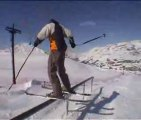 ski tricks, extreme skiing
