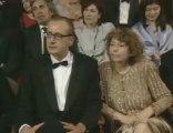 Roberto Benigni goes wild at the Oscars®