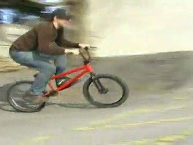 me riding my bike