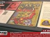 """Florence Cassez : Réouverture de l'expo """"Drôles d'Estampes"""""""