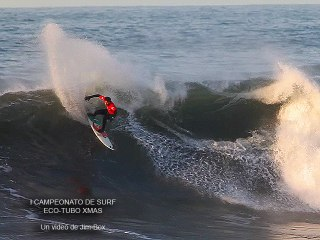 I CAMPEONATO DE SURF ECO-TUBO XMAS en El Mongol - Gijón