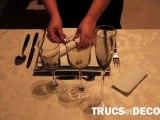 Comment dresser une table par TrucsetDeco.com