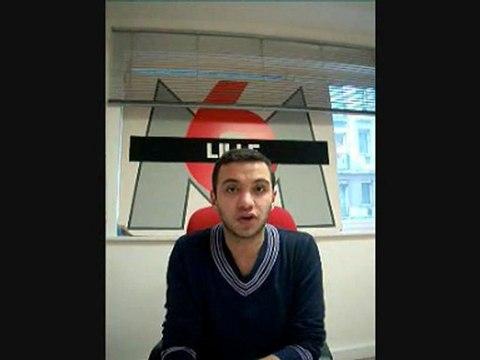 Djamel Mazi, journaliste à M6 Lille soutient les otages