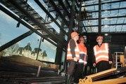 Nouvel hôpital de Metz : visite de chantier