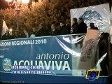 Regionali 2010   Il ministro Fitto a San Ferdinando di Puglia