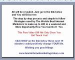 Marketing strategies on internet -Internet marketing for onl
