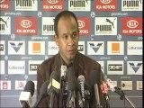 Conférence de presse de Tigana avant Lorient-Bordeaux