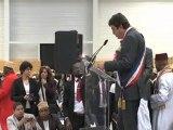 Gilles Poux salue la communauté comorienne