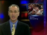 Iowa girl wins a state wrestling match by forfeit