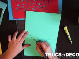 Comment faire un pochoir mural en 3D ? Par TrucsetDeco.com