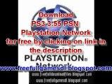 PS3 3.55 PSN Playstation Network Playstation 3 Hack free