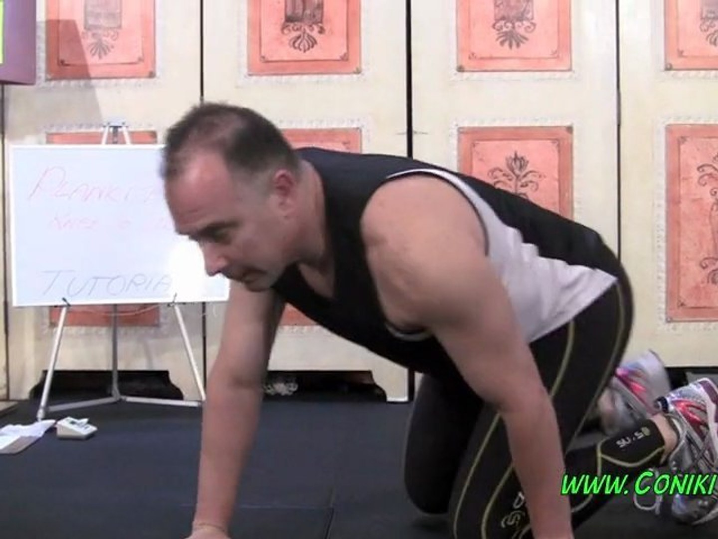 TUTORIAL PLANK PUSH UP KNEE TO ELBOW HOW TO