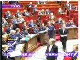 12/12/2007 Montebourg interroge Kouchner sur Kadhafi