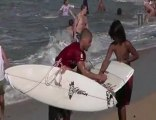 O'neill Tv  Tim Reyes surfing in Hawaii