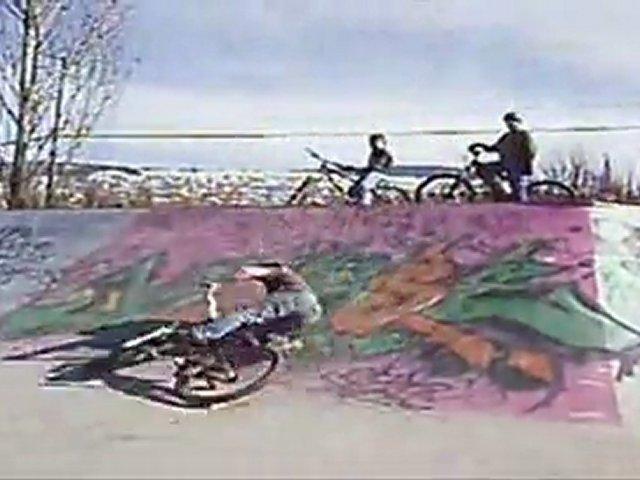 Myself Riding Bikes