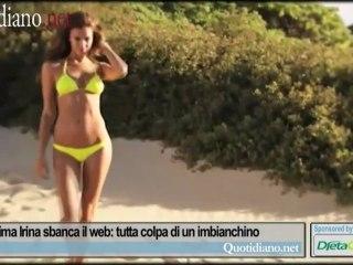 La bellissima Irina sbanca il web: tutta colpa di un imbianchino