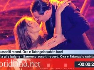 """TG Quotidiano.net (Sanremo: bufera sulla Rai dopo """"Ti sputtanerò""""  di Luca e Paolo)"""
