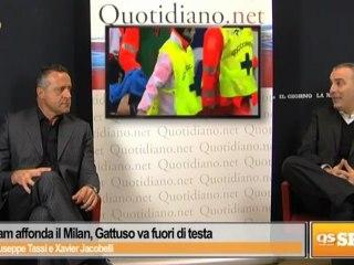 Il Tottenham affonda il Milan, Gattuso va fuori di testa