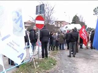 Protesta pedaggio Autopalio