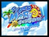 Vidéotest - Super Mario Sunshine (GameCube)