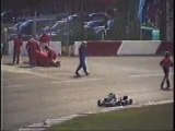 High Speed Karting Accident
