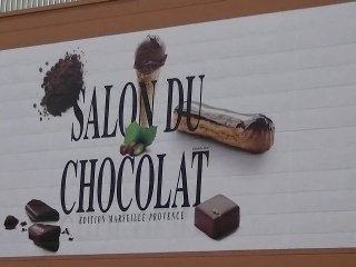 Reportage au Salon du chocolat Marseille Provence 2011