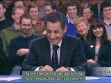 N. Sarkozy préside la table ronde du salon de l'agriculture
