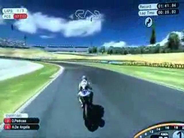 MotoGP 08 - Single Player Career (Gameplay)