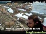 Kağızmanlı Memet Tutar'ın cenaze töreni
