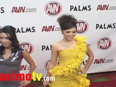 KRISTINA ROSE at 2011 AVN AWARDS Red Carpet Arrivals