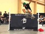 Skate : Aldrin Garcia HIGH ollie world record 45″