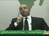 Libye: le fils de Kadhafi promet des rivières de sang