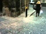 Aversa - Il marciapiede di via Piave spostato in via Cupa Scoppa