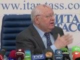 Mikhaïl Gorbatchev critique Poutine