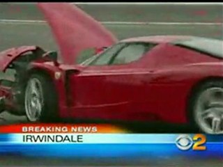 Eddie Griffin ferrari Enzo Crash