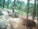 Mountain Bike - Downhill Race Video - Helmet Camera