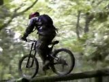 Mountain biking  at vedder in chilliwack bc canada kevin house
