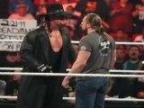 Undertaker Triple H wwe RAW returns 2/21/11 segment