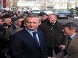 Le Maire et Borloo attendent Chirac - Salon de l'agriculture