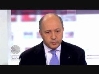 Laurent Fabius aux 4 vérités le 22 février 2011 sur France 2