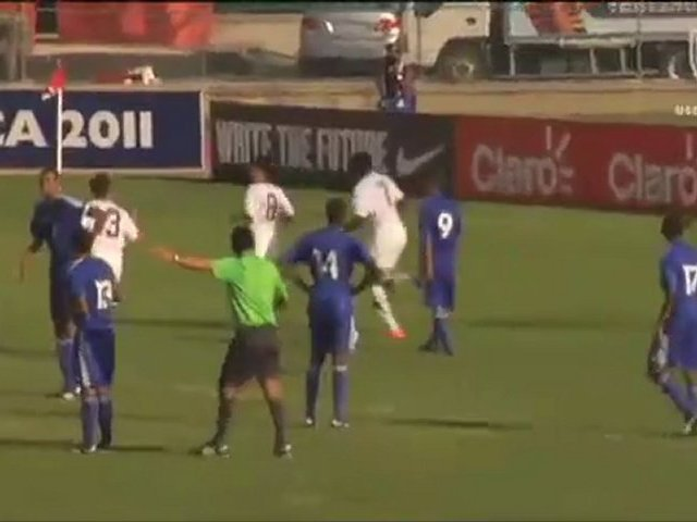 US Soccer, –  U-17 Championship – Esteban Rodriguez Goal