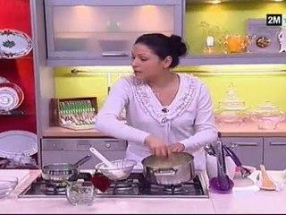 Choumicha recettes - Gateau pas cher dessert au fraise et glacage