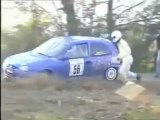 Carjam- Rally Driver Forgets Co-Pilot + Drives Off