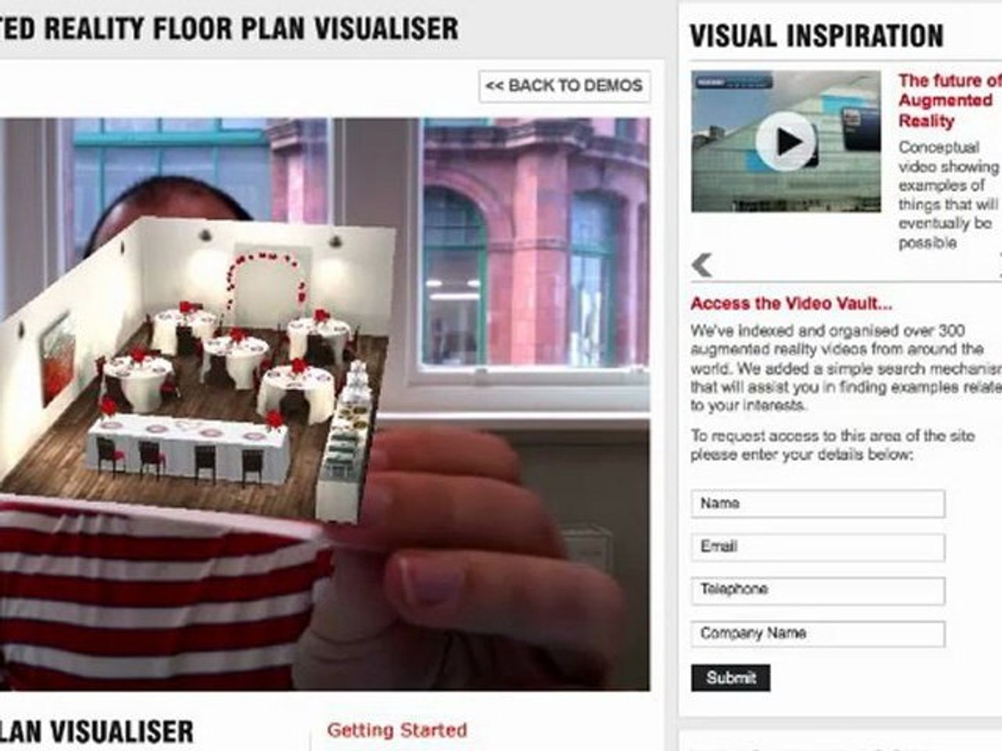 Augmented Reality Floor Plan Visualiser Video Dailymotion