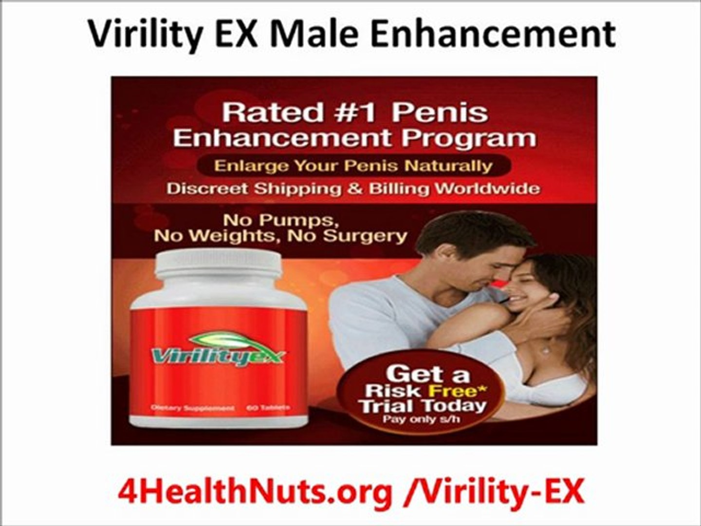 Virility Ex Male Enhancement Video Dailymotion